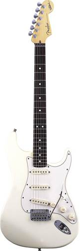Fender Artist Series Jeff Beck Strat Olympic White RW