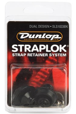 Dunlop SLS1033 Black Straploks