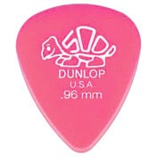 Dunlop 41P.96 Delrin 500 Standard 12/Play Pack Picks