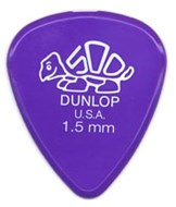 Dunlop 41P1.5 Delrin 500 Standard 12/Play Pack Picks