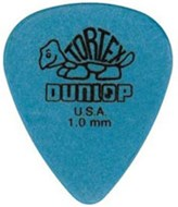 Dunlop 418P 1.0 Tortex Blue Standard 12/Play Pack Picks