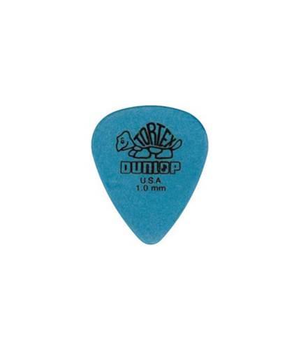 Dunlop 418P 1.0 Tortex Blue Standard 12/Play Pack Picks