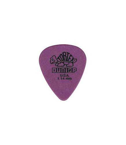 Dunlop 418P 1.14 Tortex Purple Standard 12/Play Pack