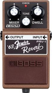 BOSS FRV1 63 Fender Reverb Pedal
