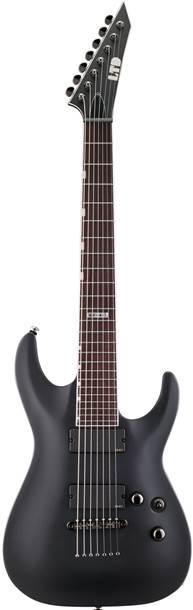 ESP LTD MH-417 BLKS Black Satin 7 String