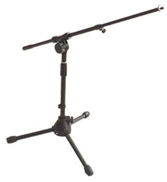 Stagg MIS-2004BK Low Profile Pro Mic Boom Stand