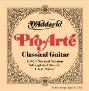 D'Addario EJ45 Pro Arte Normal Tension Classical Strings