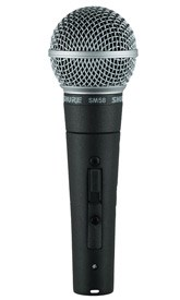 Shure SM58SE Switched