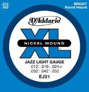 D'Addario EJ21 XL Jazz Lights