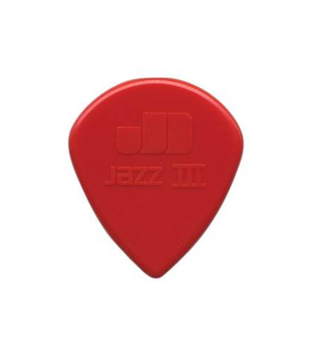 Dunlop 47P3N Jazz III Nylon Sharp 1.38mm 6/ Play Pack Picks