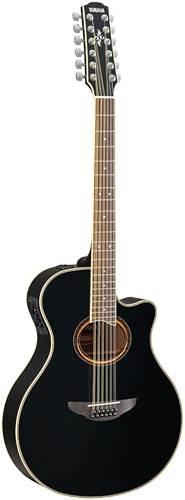 Yamaha APX700II 12 String Black
