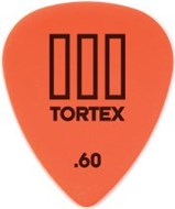 Dunlop 462P.60 Tortex III 12/Play Pack Picks