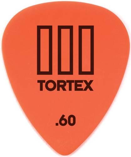 Dunlop 462P.60 Tortex III 12/Play Pack Picks