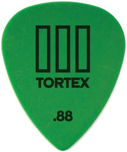 Dunlop 462P.88 Tortex III 12/Play Pack Picks