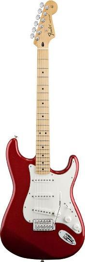 Fender Standard Strat Candy Apple Red MN