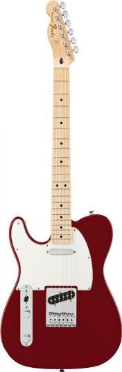 Fender Standard Tele Candy Apple Red LH MN