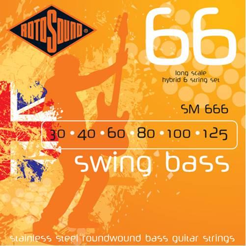 Rotosound SM666 Swing Bass 30-125 6 String