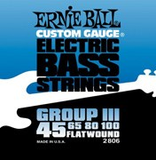 Ernie Ball 2806 Nickel Flatwound Bass