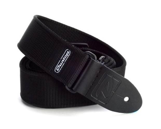 Dunlop D38-09BK Strap Solid Black-EA