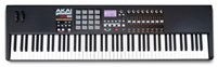 Akai MPK88 Key Full Weighted USB Midi Keyboard Controller Front View