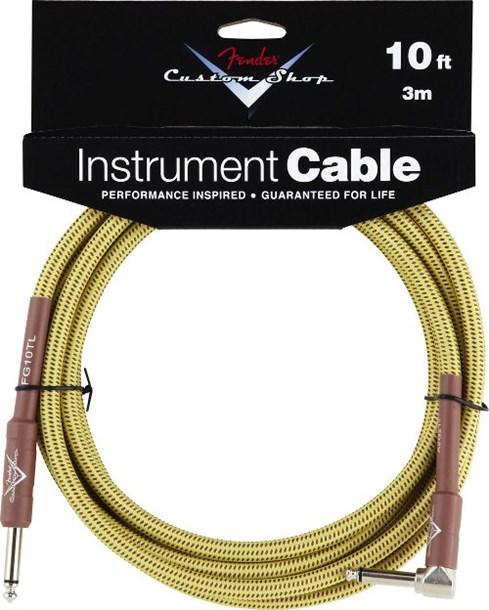 Fender Custom Shop Cable 3M Angled Tweed