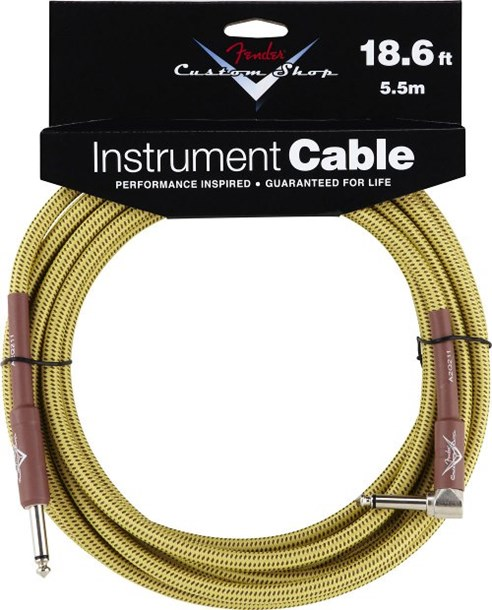 Fender Custom Shop Cable 5.5M Angled Tweed