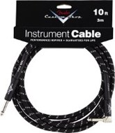 Fender Custom Shop Cable 3M Angled Black Tweed