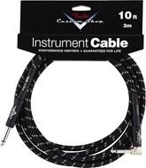 Fender Custom Shop Cable 3M Angled Black Tweed