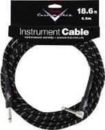Fender Custom Shop Cable 5.5M Angled Black Tweed