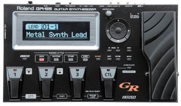 Roland GR-55S-BK Guitar Synth