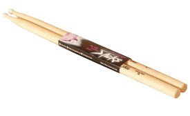 On Stage HN5A 5A Hickory Drum Sticks Nylon Tip