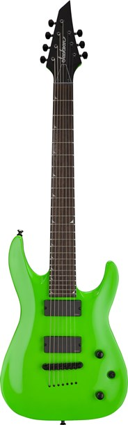 Jackson SLATTXMG3-7 Soloist 7 String RW Slime Green