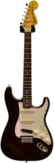 Fender Strat Hardtail Wine Red 1973 (Pre-Owned)