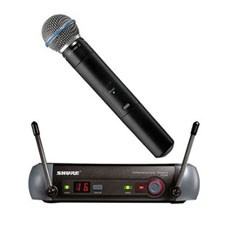 Shure PGX24 Beta 58 Wireless Microphone System