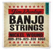 Dunlop DJN1023 Banjo Strings Nickel Medium