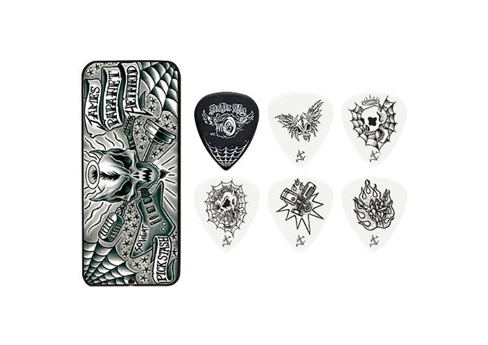 Dunlop JPH01T088 James Hetfield Pick Tin