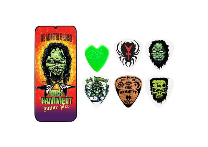 Dunlop KH01T088 The Monster Is Loose Kirk Hammett Pick Tin