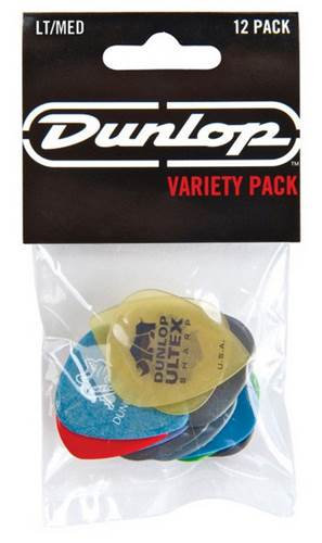 Dunlop Variety Pack Light/Medium 12 Player Pack