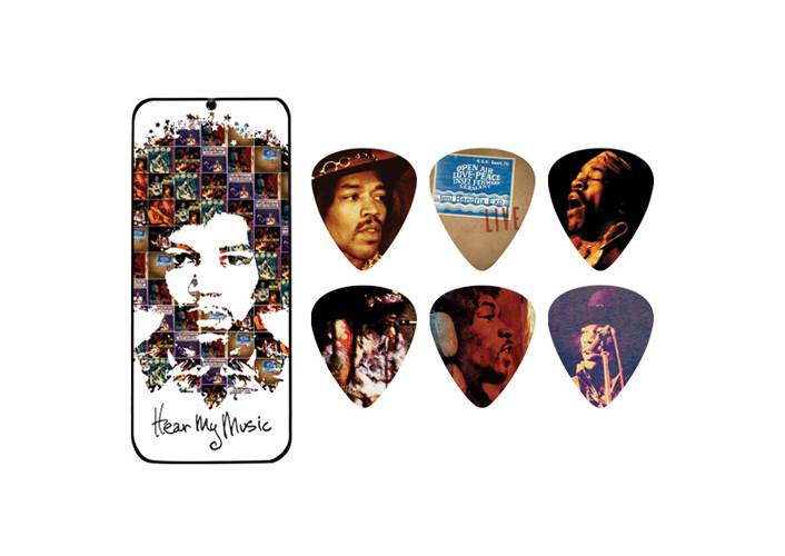 Dunlop JD-JH-PT07M Jimi Hendrix Hear My Music Pick Tin