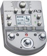 Zoom A3 Acoustic Multi Effects Pedal