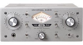 Universal Audio 710 Twin-Finity Tone Blending Mic Preamp