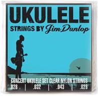 Dunlop JD-DUY302 Concert 4/Set Ukulele Strings