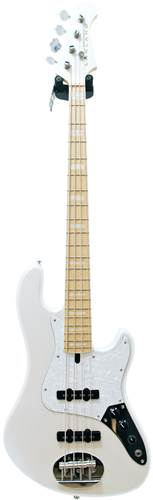 Lakland Skyline Darryl Jones 4 String White Pearl Maple Fingerboard