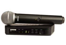 Shure BLX24UK/PG58 Vocal System