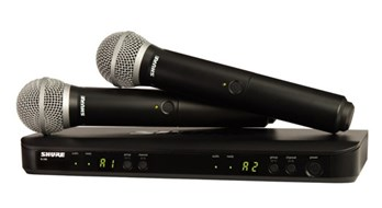 Shure BLX288UK/PG58 Dual Vocal System