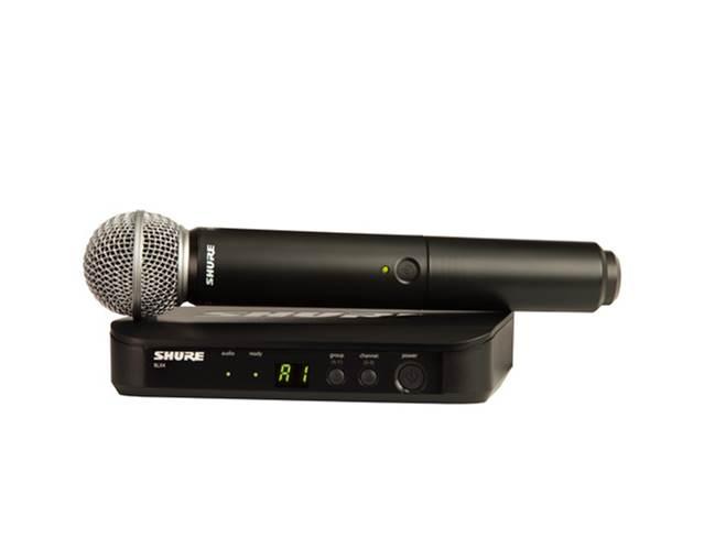 Shure BLX24UK/SM58 SM58 Vocal System