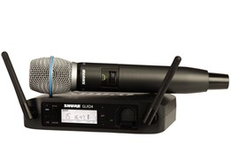 Shure GLXD24UK/B87A Digital Beta 87A Vocal System