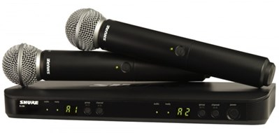 Shure BLX288UK/SM58 Dual SM58 Handheld Wireless System