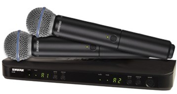 Shure BLX288UK/B58 Dual Beta 58 Handheld System