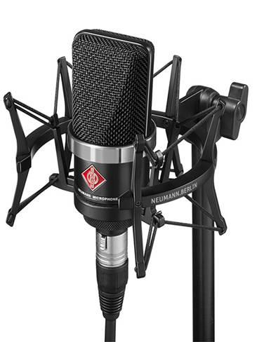 Neumann TLM-102 Black Studio Set Inc Shockmount